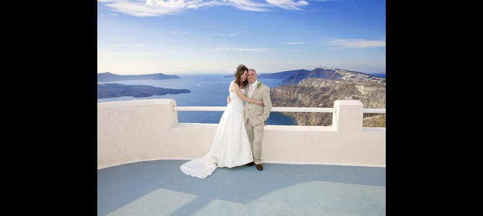 weddings, Santorini, greece, bride, groom, view,